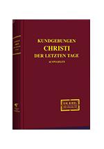 Kundgebungen Christus der letzten Tage (Auswahl)